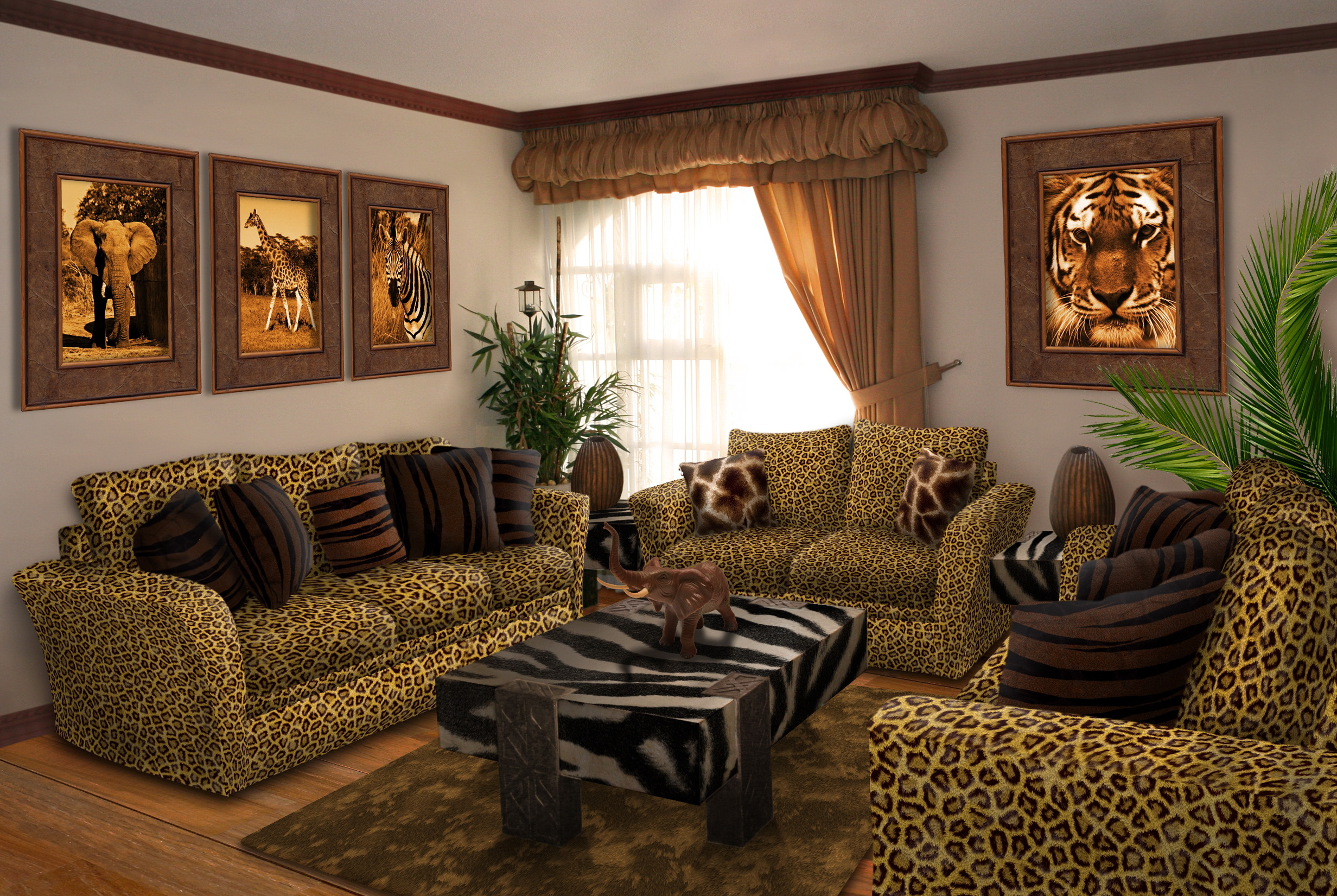 30 African Living Room Ideas by Digital Interiors ...